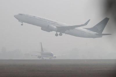 Bandara STS Jambi Lumpuh Total, 11 Penerbangan Cancel