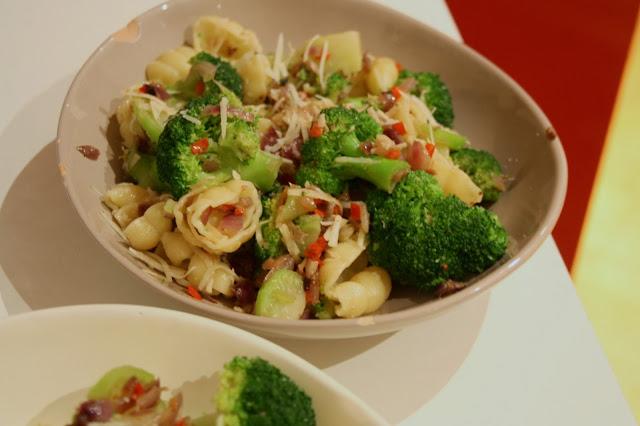 Pasta met broccoli uit de dikke vinazza
