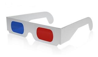 Antiguas gafas 3D