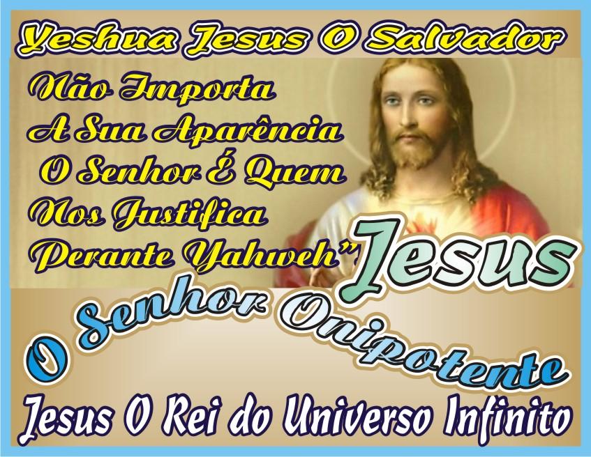 Não Importa Sua Aparência O Importante É A Fé em Jesus