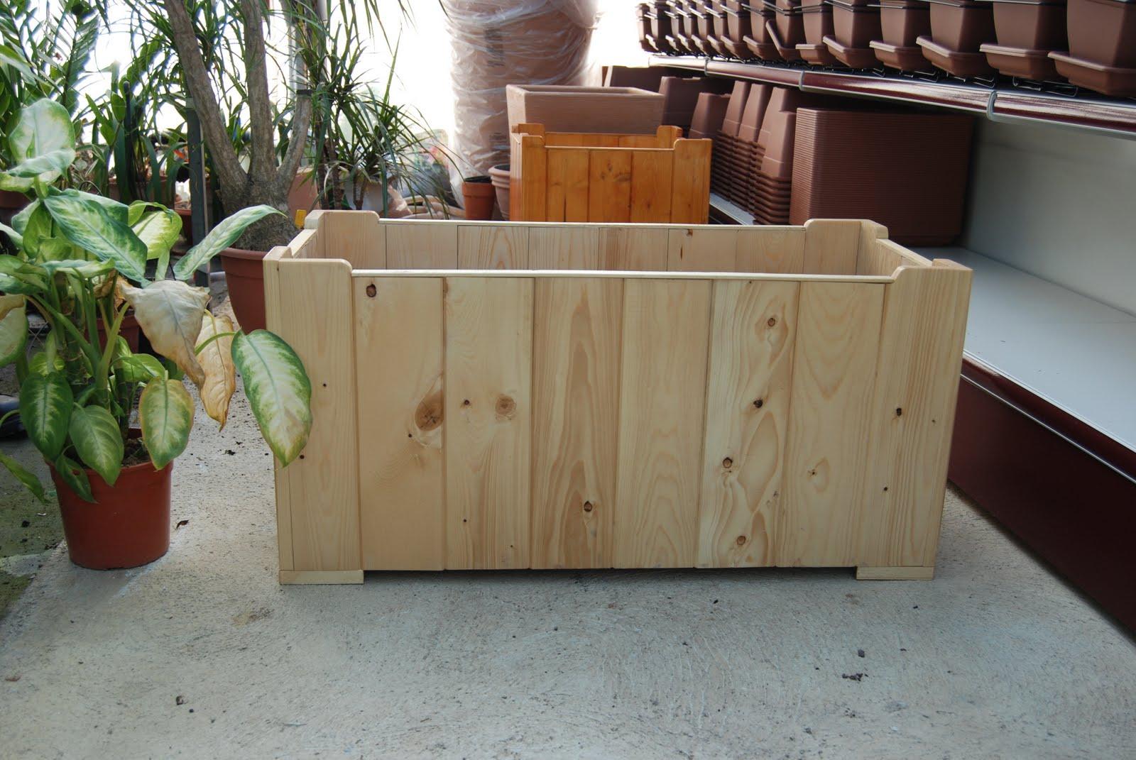 Redwood legno portavasi for Portavasi in legno