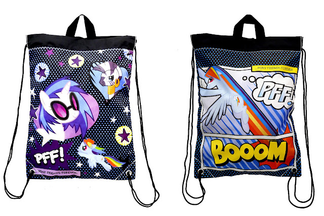 Vinyl Scratch string bag