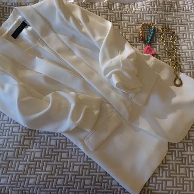 My Midlife Fashion, Zara, crepe tuxedo jacket
