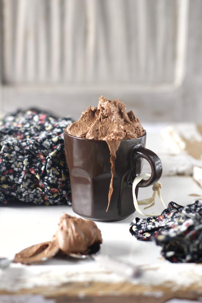 Mousse de chocolate y cappuccino. http://www.maraengredos.com/