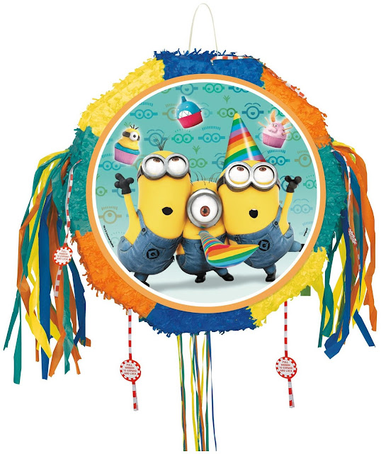 minion party decoration pinata