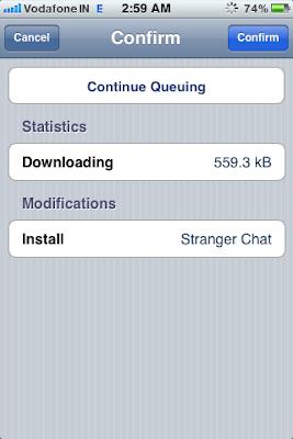 cydia app confirm