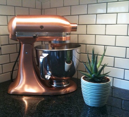 Red white and blue from etsy martine louise design - Copper pearl kitchenaid mixer ...
