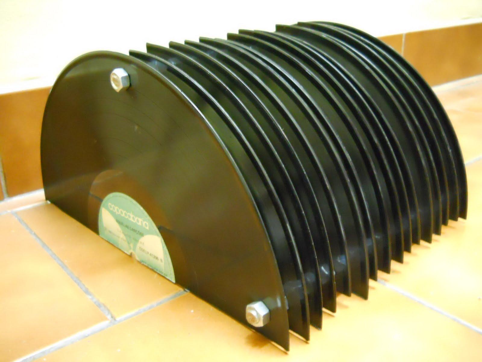 Eco oby: porta cd dvd de vinil