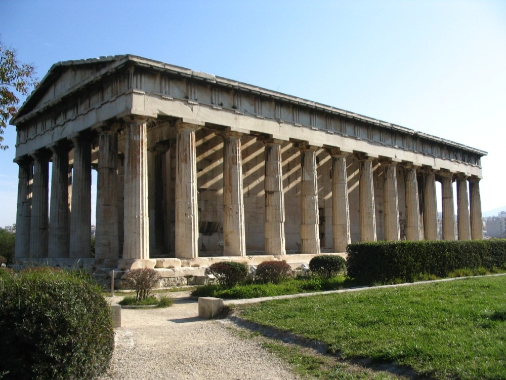 Temple of Hephaestus  Travel around the world