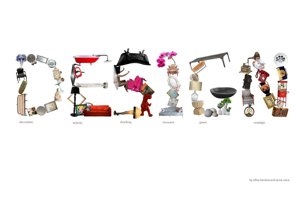 Poster Design, Alphabet Project