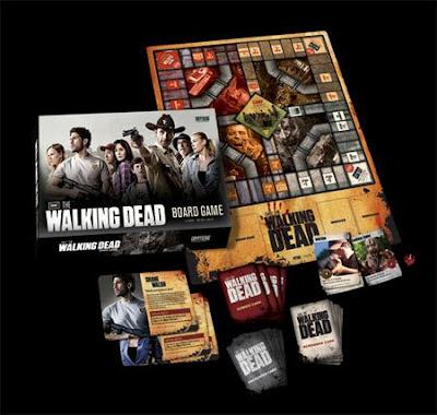 el juego de mesa de The Walking Dead