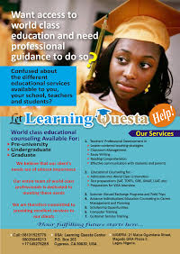 LEARNING QUEST EDUCATIONAL OPPORTUNITY