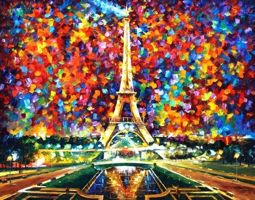 Leonid Afremov: Pinturas al oleo llenas de luz y color