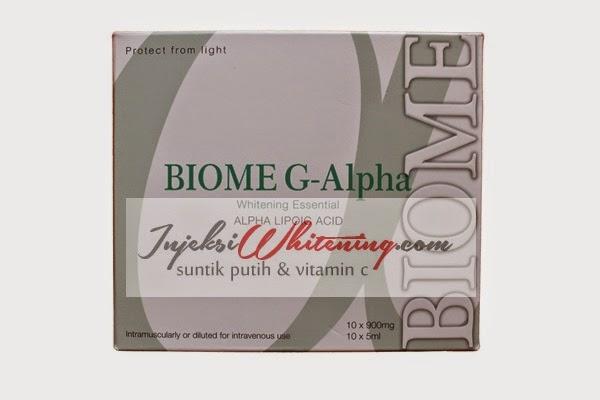 Biome G-Alpha Whitening Essential, Biome G Alpha Original, biome g alpha injeksi, biome g alpha whitening, biome g alpha injection