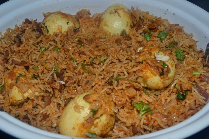 Food and beyond egg biryani muttai biriyani