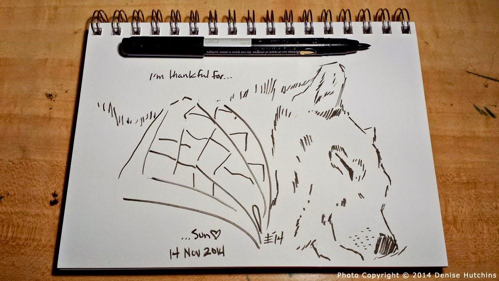 Ink Sketch of Sleeping Shiba Inu