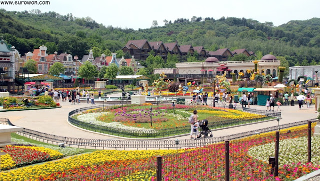 Jardín de las cuatro estaciones de Everland
