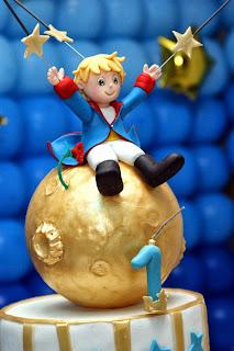 Pequeno príncipe em biscuit