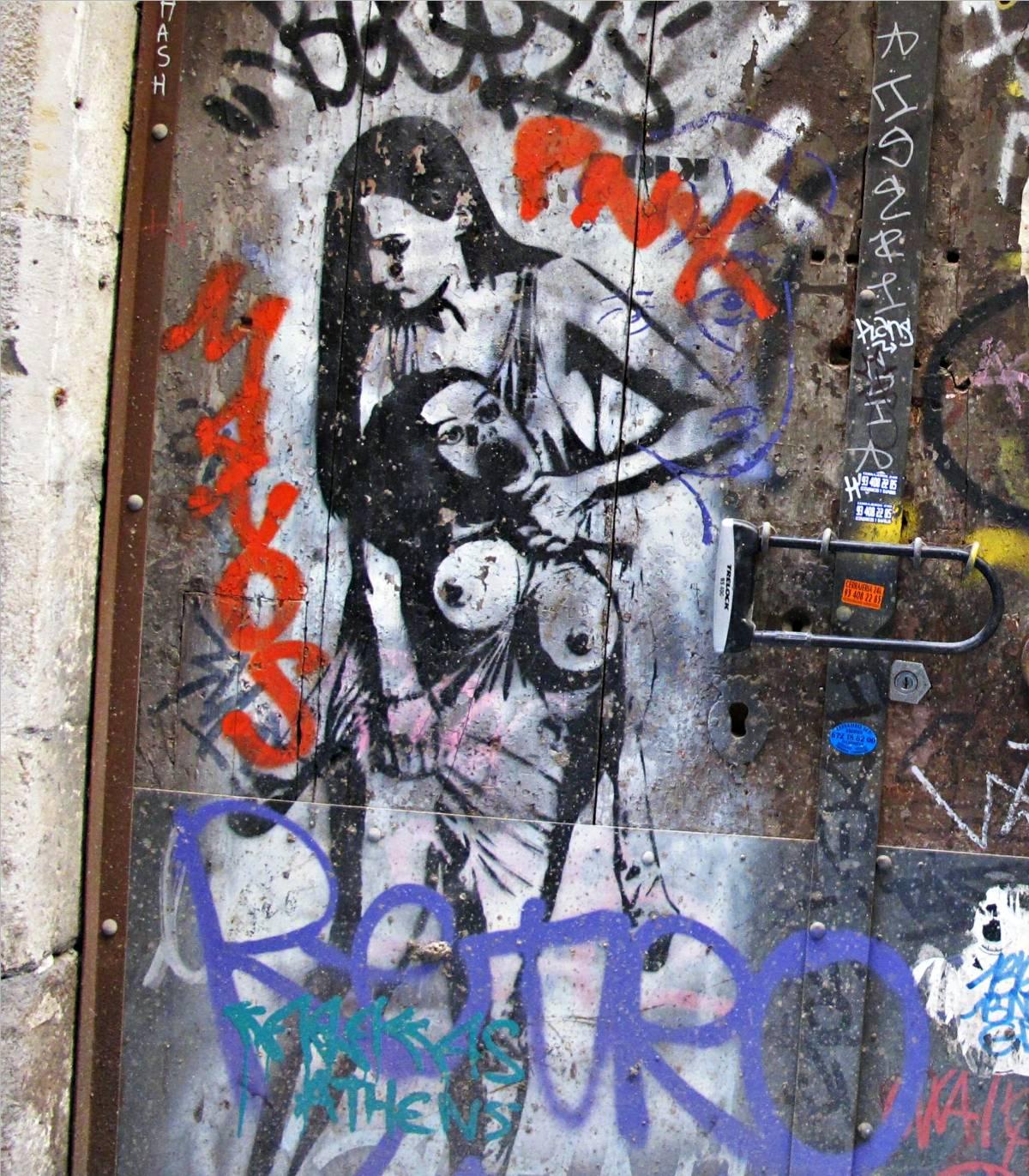Entre el artista y el espectador se establece una comunicación a través de un mensaje que, en muchos casos, tiene mucha carga social. En el graffiti
