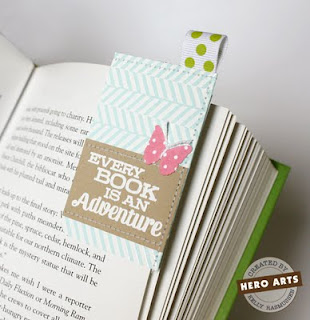 diy corner bookmark with ribbon