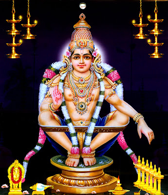 Lord Ayyappa the Hindu God of Sabarimala