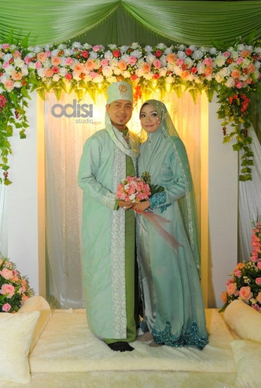 Gambar Perkahwinan Fedtri Yahya