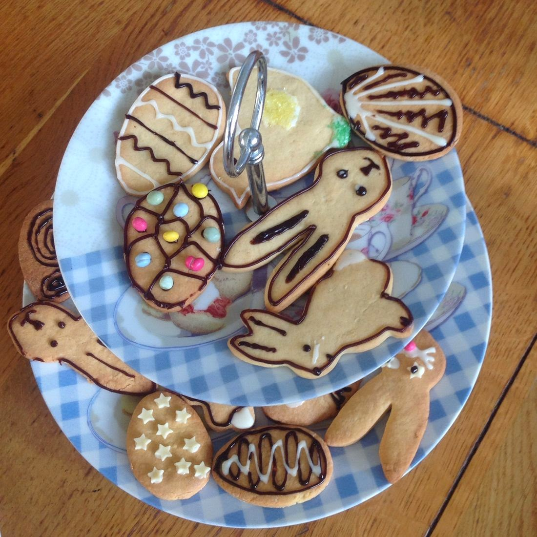 easter biscuits bunnies eggs chicks