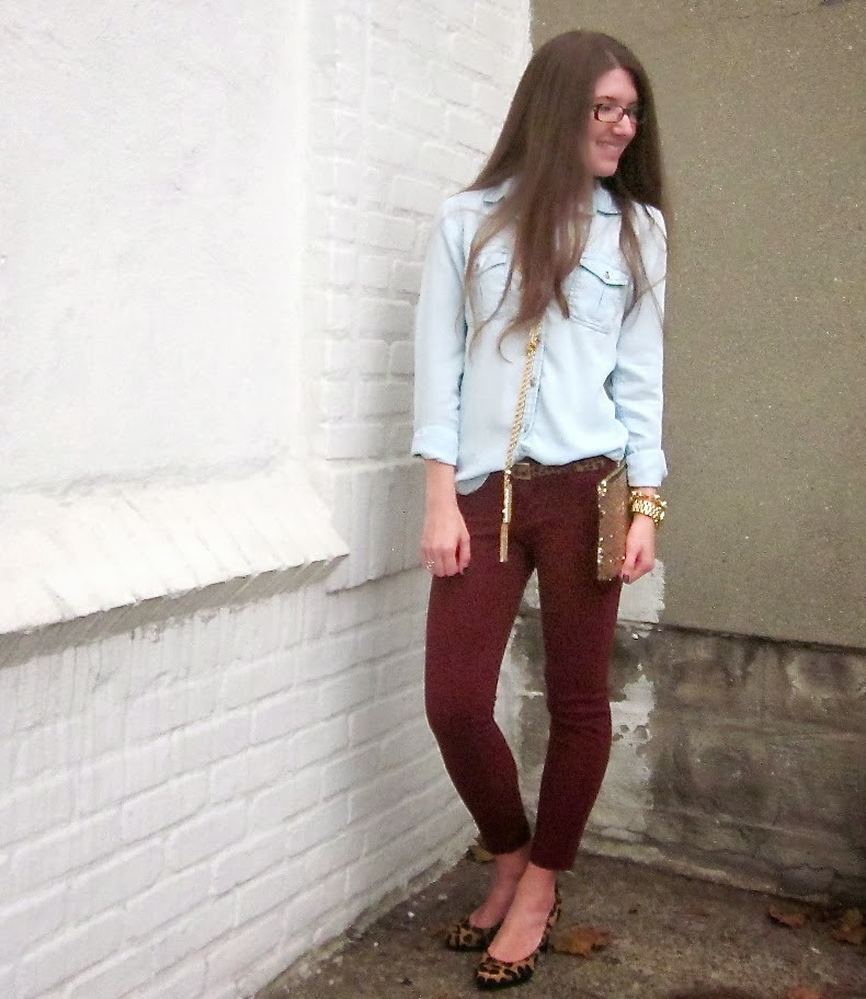 Dressed up chambray