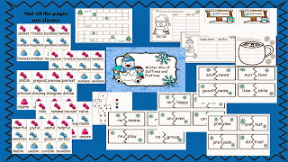 http://www.teacherspayteachers.com/Product/Winter-mix-of-suffixes-and-prefixes-1023850
