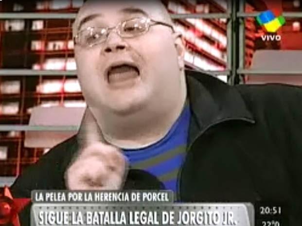 Hijo de Jorge Porcel y su mama Norma enojados con la prensa