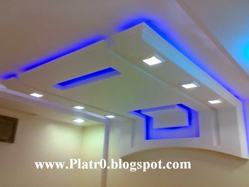 Plafond chambre chambre plafond fonce salle de bain for Dicor platre 2015