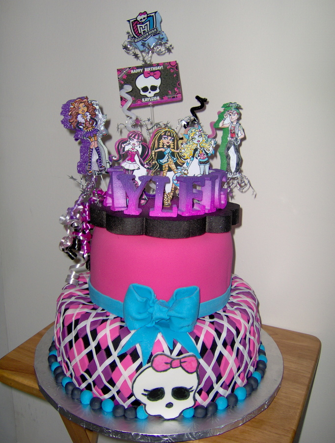 Monster high decoraci n de fiestas de cumplea os - Todo para fiestas de cumpleanos ...