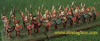 Iphikratean hoplites