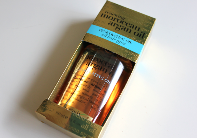 Organix Moroccan Argan Oil Penetrating Oil hair serum treatment review