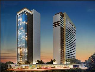 Pátio Cariri: residencial, comercial e open mall.