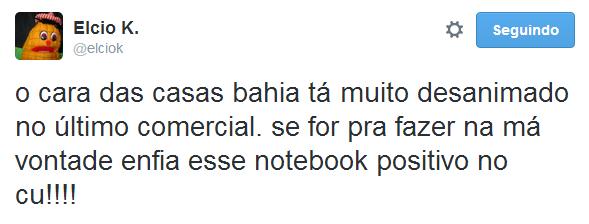 O cara das Casas Bahia está muito desanimado - Os melhores do Twitter