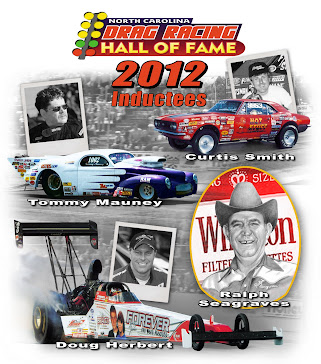 North Carolina Drag Racing Hall of Fame Class of 2012
