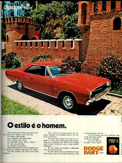propaganda Dodge Dart - Chrysler - 1971