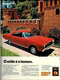 propaganda Dodge Dart - Chrysler - 1971