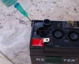 Cara Memperbaiki / Servis Aki Motor Rusak / Soak