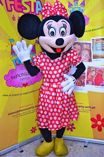 Mascote Minnie Clássica