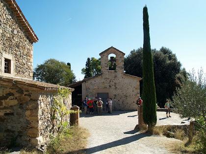 El conjunt del mas i ermita de Sant Hilari