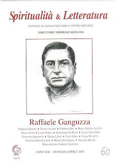 """Recuperi/22 - AA.VV., """"Raffaele Ganguzza"""", Spiritualità & Letteratura, n. 60"""