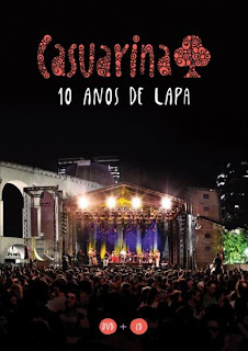 capa Download – Casuarina   10 Anos de Lapa   Ao Vivo – DVDRip AVi + RMVB