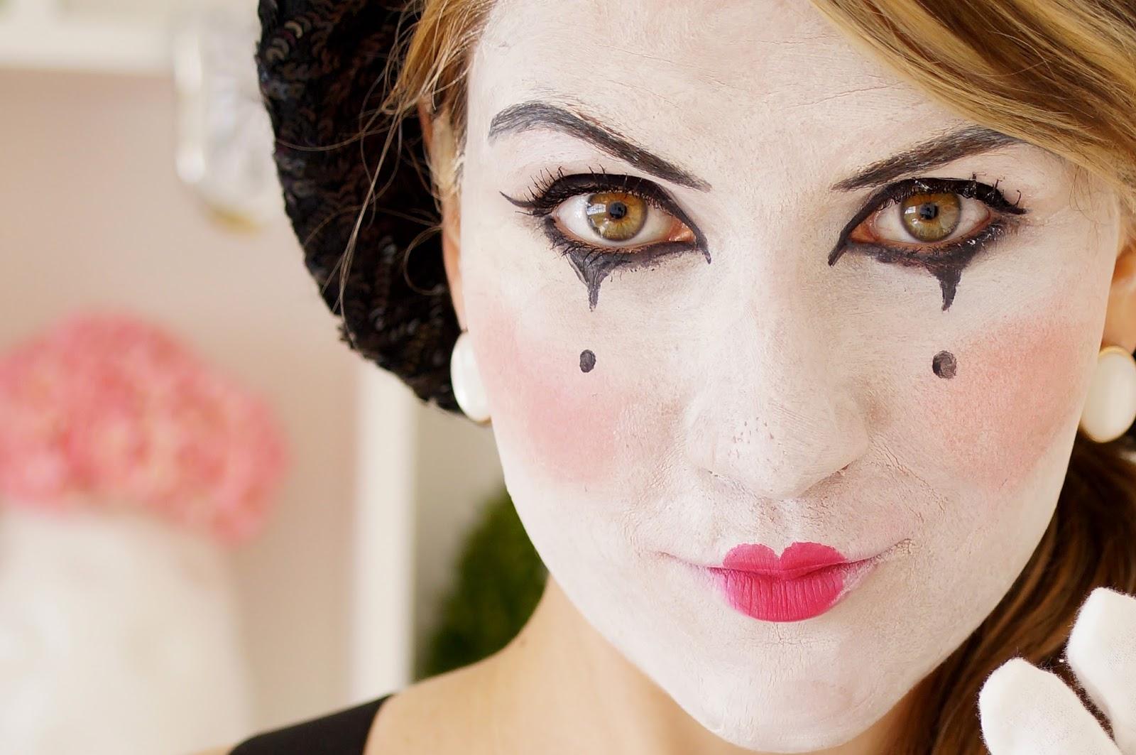 Mime Face Paint