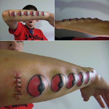 Unique 3d Tattoos Yes it is the 3D tattoos the world top eyepopping