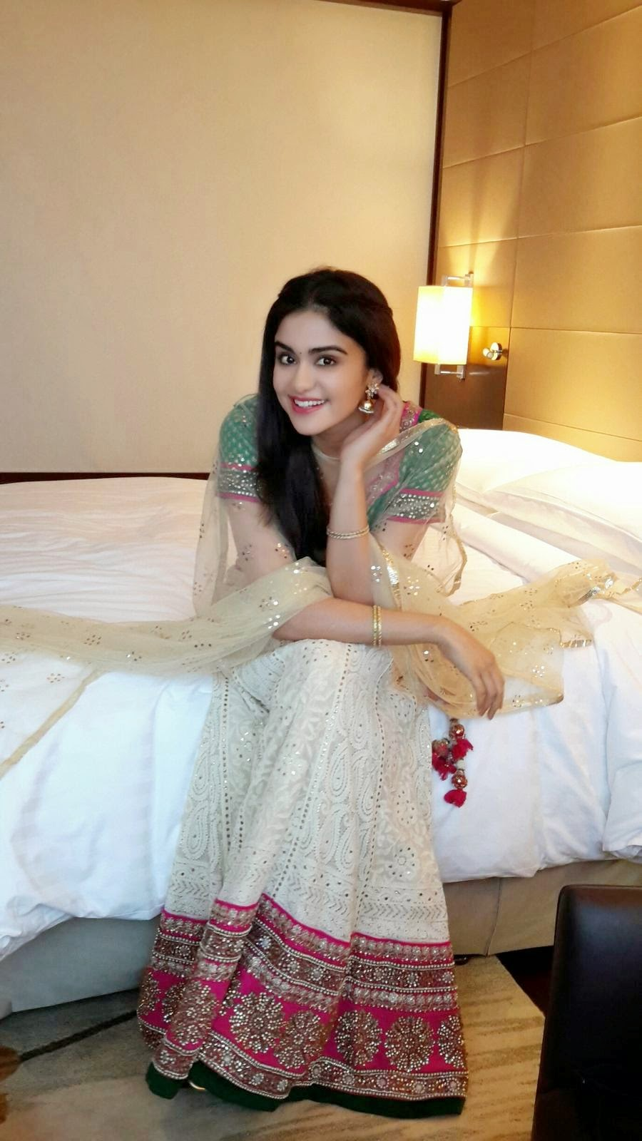 Adah Sharma Gorgeous Latest Stills In Lehenga