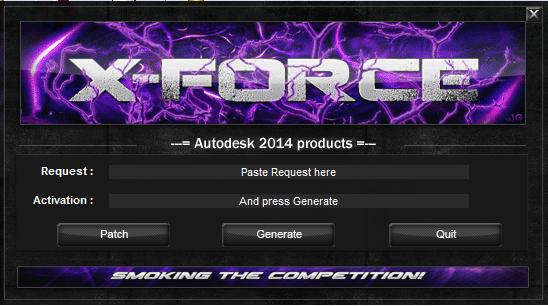 arakaki downloads: X-FORCE 2014 Autodesk Products 2014