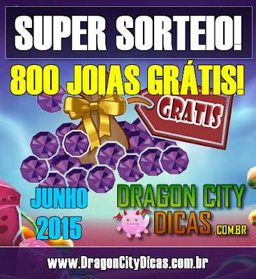 Super Sorteio de 800 Joias Grátis - Junho 2015
