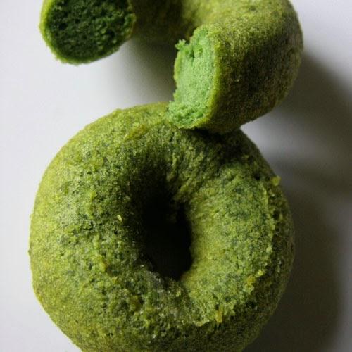 Donuts de matcha